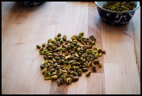 pistachios, my favorite. they always remind me of Chistmas, as they are a manney family splurge.